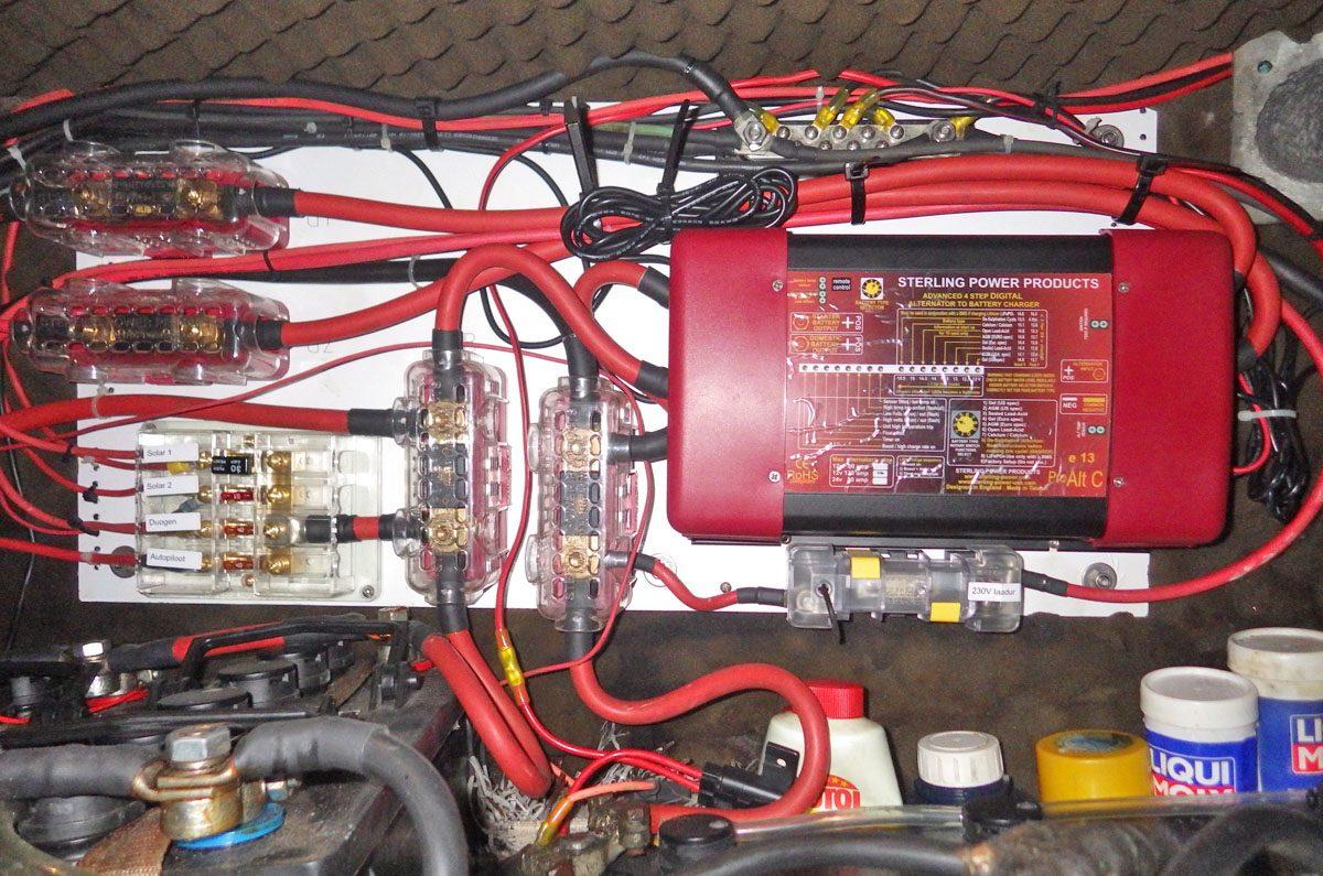 Generaatoritelt laadija paigas